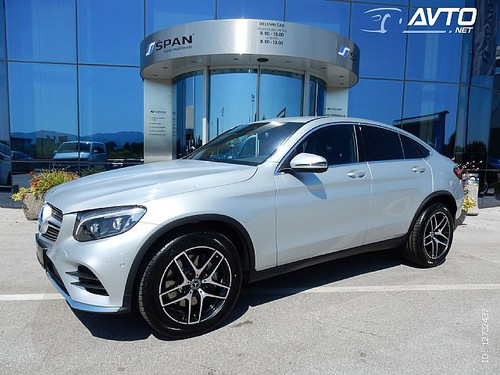 GLC coupe GLC Coupé 250 d 4MATIC AMG Line Avt. | SLO KOT NOV